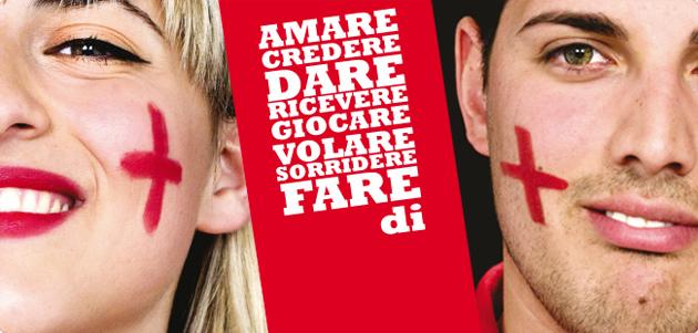 Diventa volontario della Croce Rossa Italiana - Amare, credere, dare, ricevere, giocare, volare, sorridere fare di +